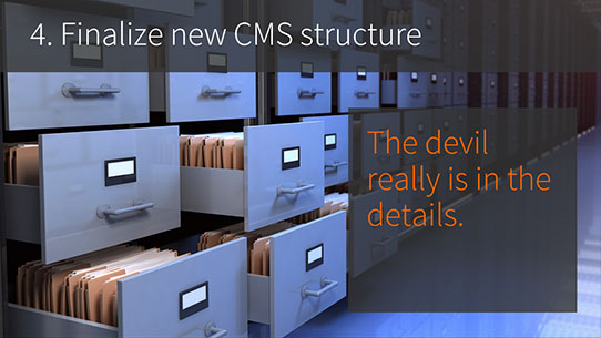 SharePoint developers - 4. FInalize new CMS Structure