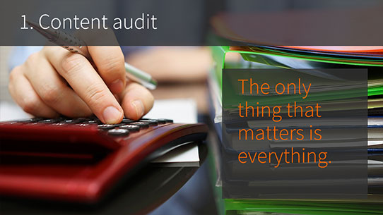 SharePoint consultancy - 1. Content Audit