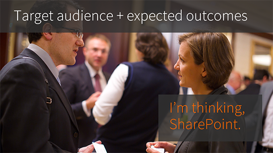 SharePoint target audience