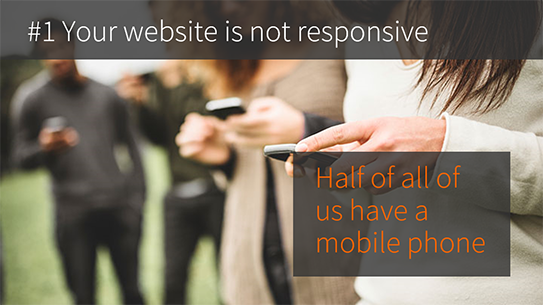 Your enterprise CMS website is not responsive