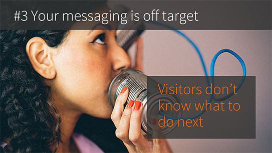 Your enterprise CMS website messaging is off target