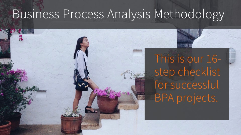 Business Process Analysis Methodology