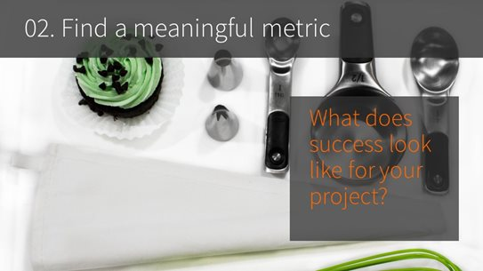 02. Find a meaningful metric